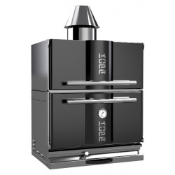 Гриль-печь на углях KOPA 300С с тепловым шкафом - интернет-магазин КленМаркет.ру