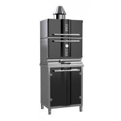 Гриль-печь на углях KOPA 300SC с тепловым шкафом на подставке - интернет-магазин КленМаркет.ру