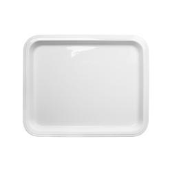 Гастроемкость керамическая «Corone» GN 1/2 330х268х20 мм белая [LQ-QK15076] - интернет-магазин КленМаркет.ру