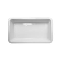 Гастроемкость керамическая «Corone» GN 1/2 326х265х60 мм черная [LQ-QK15029-K] - интернет-магазин КленМаркет.ру