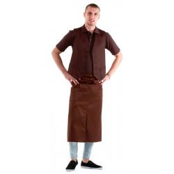 Жилет мужской коричневый [00030] - интернет-магазин КленМаркет.ру