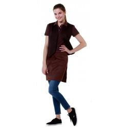 Жилет женский коричневый [00040] - интернет-магазин КленМаркет.ру