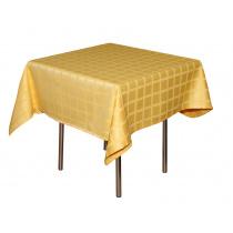 Скатерть 145х195 см «Журавинка» желтая (квадрат)