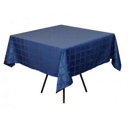 Скатерть 145х195 см «Журавинка» синяя (квадрат) - интернет-магазин КленМаркет.ру