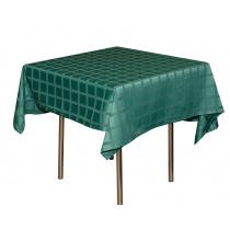 Скатерть 145х195 см «Журавинка» темно-зеленая (квадрат)