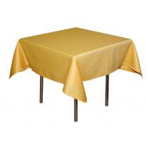 Скатерть 145х145 см «Мираж» лимонная