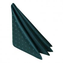 Салфетка 45х45 см «Мираж» темно-зеленая