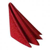 Салфетка 45х45 см «Ричард ажур» бордо