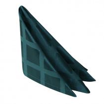Салфетка 45х45 см «Журавинка» темно-зеленая (квадрат)