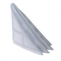 Салфетка 45х45 см «Журавинка» белая (квадрат)