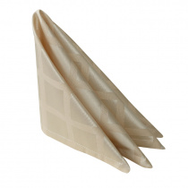 Салфетка 45х45 см «Журавинка» бежевая (квадрат)