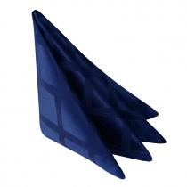 Салфетка 45х45 см «Журавинка» синяя (квадрат)
