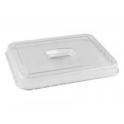 Крышка для салатника с волнистым краем 330х265х30 мм прозрачная [422108301]   - интернет-магазин КленМаркет.ру