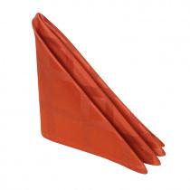 Салфетка 45х45 см «Журавинка» терракот (квадрат)