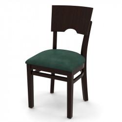 Стул «Йорк» с мягким сиденьем - интернет-магазин КленМаркет.ру