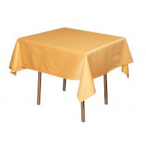 Скатерть 145х145 см «Ричард ажур» золотая