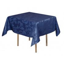 Скатерть 1,50х1,50 м «Валенсия флор» синяя