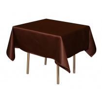 Скатерть «Валенсия» 1,50х1,50 м коричневая