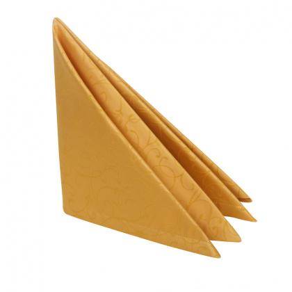 Салфетка 45х45 см «Ричард ажур» золотая - интернет-магазин КленМаркет.ру