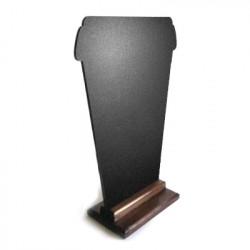 Меловая доска «Кофе с собой» 420х300 мм на деревянной подставке  - интернет-магазин КленМаркет.ру
