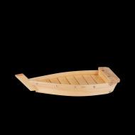 Блюдо для суши «Корабль» 420 мм дерево