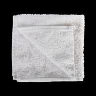 Салфетка махровая белая «Ошибори» хлопок 300х300 мм