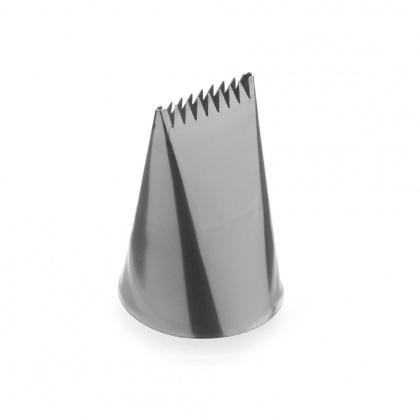 Насадка кондитерская «Лента гофрированная широкая» 30 мм [BХ 9022] - интернет-магазин КленМаркет.ру