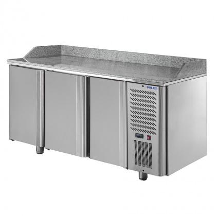 Стол охлаждаемый для пиццы POLAIR TM3pizza-G с гранитной столешницей - интернет-магазин КленМаркет.ру