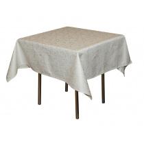 Скатерть 145х145 см «Мати» белая (огурцы)