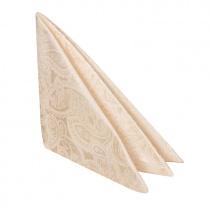Салфетка 45х45 см «Мати» белая с золотом (огурцы)