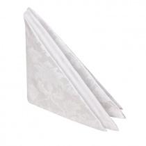 Салфетка 45х45 см «Мати» белая (цветок)