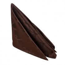 Салфетка 45х45 см «Журавинка» коричневая (вензель)