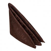 Салфетка 45х45 см «Журавинка» коричневая (цветок)