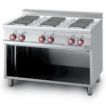Плита электрическая LOTUS PCQ-712ET шестиконфорочная без жарочного шкафа (серия 70)