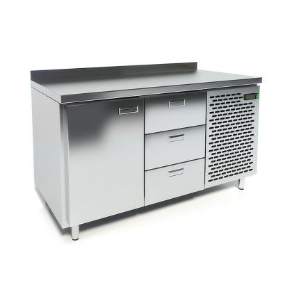 Стол охлаждаемый CRYSPI СШС-3,1 GN-1400 - интернет-магазин КленМаркет.ру