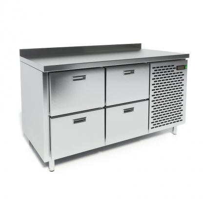 Стол охлаждаемый CRYSPI СШС-4,0 GN-1400 - интернет-магазин КленМаркет.ру
