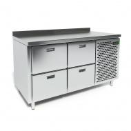 Стол морозильный CRYSPI СШН-4,0 GN-1400