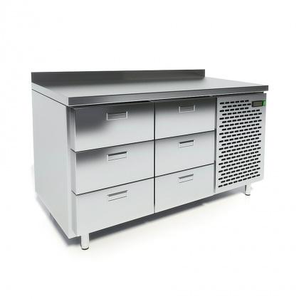 Стол охлаждаемый CRYSPI СШС-6,0-1400 - интернет-магазин КленМаркет.ру