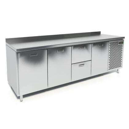 Стол охлаждаемый CRYSPI СШС-2,3 GN-2300 - интернет-магазин КленМаркет.ру