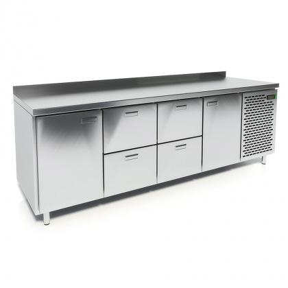 Стол охлаждаемый CRYSPI СШС-4,2 GN-2300 - интернет-магазин КленМаркет.ру