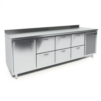 Стол охлаждаемый CRYSPI СШС-6,1 GN-2300 - интернет-магазин КленМаркет.ру
