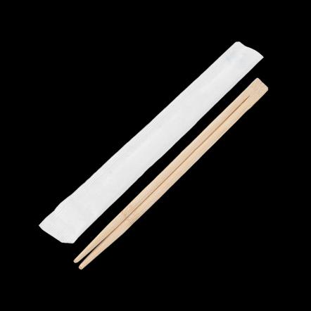 Китайские палочки бамбуковые в индивидуальной упаковке 240 мм 100 шт