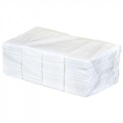 Салфетки бумажные двухслойные 330х330 мм, 1/8 сложение (белые) - интернет-магазин КленМаркет.ру