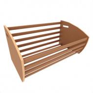 Накопитель хлебный 1250 мм деревянный