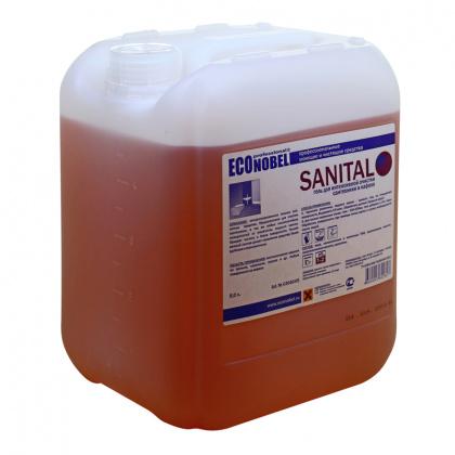 Средство для чистки сантехники и кафеля SANITAL, 5 л (03040.5) - интернет-магазин КленМаркет.ру