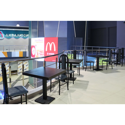 Стул «Готика» СМ 7/9-01 с мягким сиденьем (окрашенный каркас) - интернет-магазин КленМаркет.ру