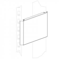 Панель сплошная угловая внешняя 150 мм - интернет-магазин КленМаркет.ру