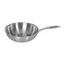 Сковорода ВОК Luxstahl 300/90 из нержавеющей стали [C241341]