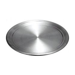 Противень алюминиевый 400х400 мм для пиццы - интернет-магазин КленМаркет.ру
