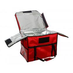 Термосумка для обедов 600х400х450 мм фольгированная - интернет-магазин КленМаркет.ру